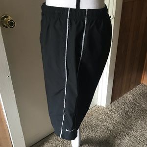 Nike Swim - Men's Black Nike Swim Trunks Size S
